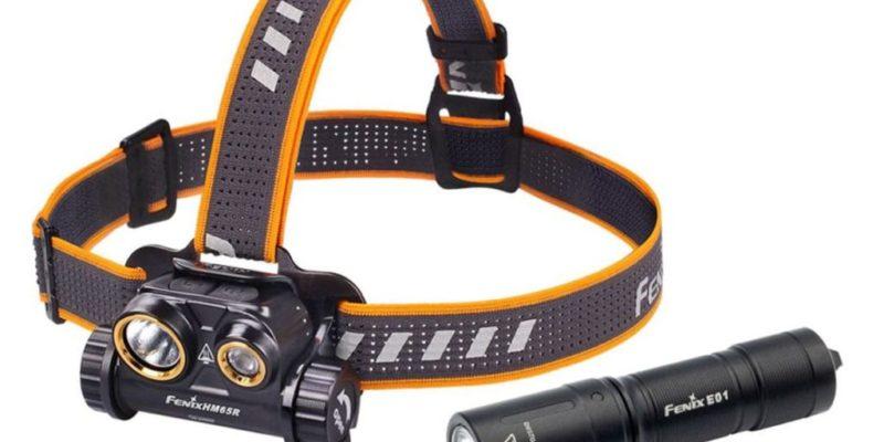 Fenix Stirnlampe HM65R + E01